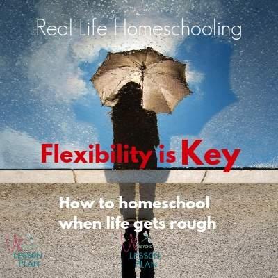 Real Life Homeschooling: Flexibility Is Key