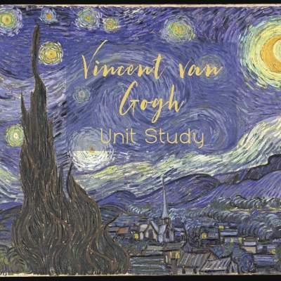 Vincent van Gogh Artist Study and Activities