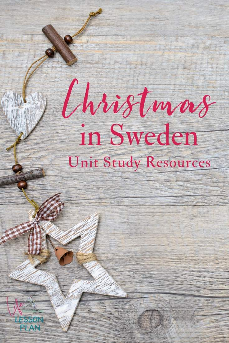 Christmas in Sweden Unit Study Resources