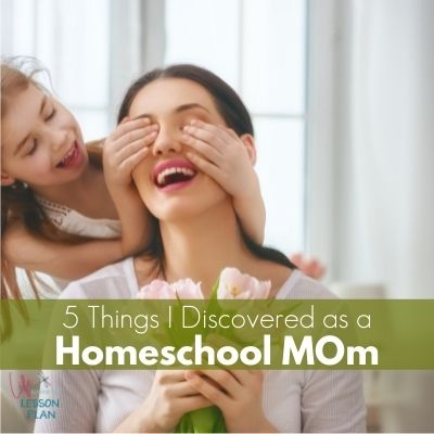 homeschool mom and daughter playing