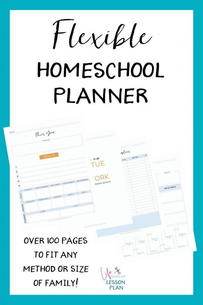 Flexible Homeschool Planner