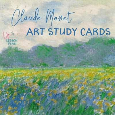 Claude Monet Art Study Cards