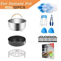 Compatible with Instant Pot Accessories Set Pressure Cooker Accessoriy Compatible with Instant Pot 5,6,8 QT or Other Electric Pressure Cookers 12pcs