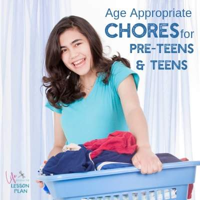 Age-Appropriate Chores for Pre-Teens and Teens