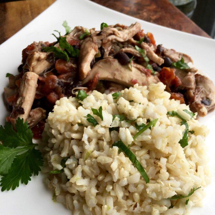 Instant Pot Cilantro-Lime Rice