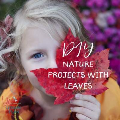 DIY Nature Projects with Leaves