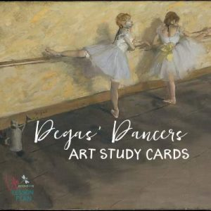 Degas' Dancers Art Study Cards