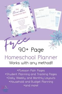 Flexible Homeschool Mom Planner
