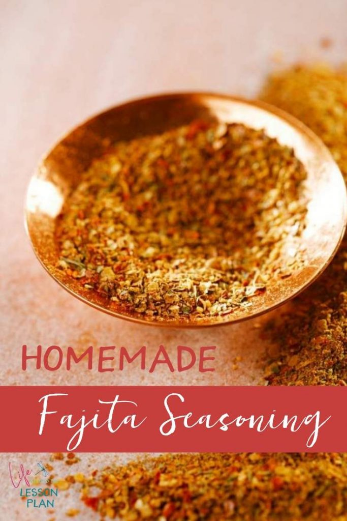 Homemade Fajita Seasoning