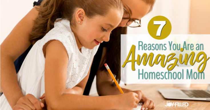 7 Reasons You Are an Amazing Homeschool Mom
