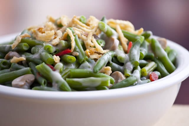 Green Bean Casserole & Thanksgiving Side Dishes