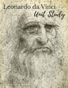 Leonardo da Vinci Unit Study and Notebook Pages