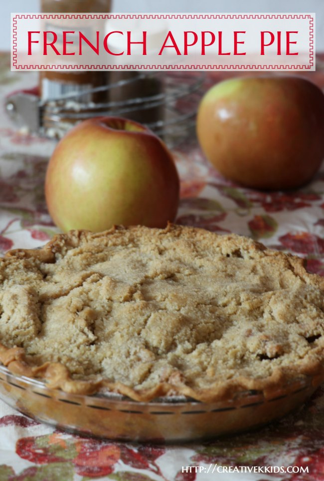 My Favorite Thanksgiving Dessert: French Apple Pie
