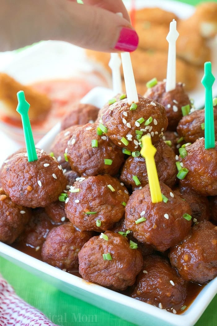 Instant Pot Dr Pepper Barbecue Meatballs