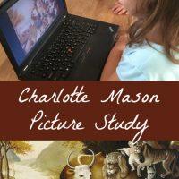 Charlotte Mason Picture Study