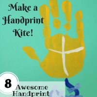 Make a Handprint Kite Painting with Your Kids - Blog