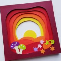 Fun Fall 3D Paper Craft