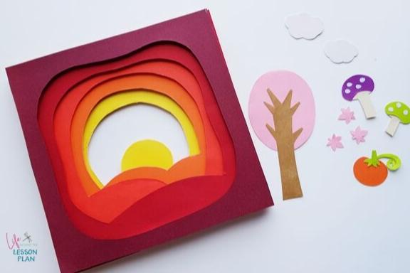 Fall 3D Papercraft