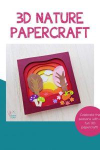 Fall #D Papercraft