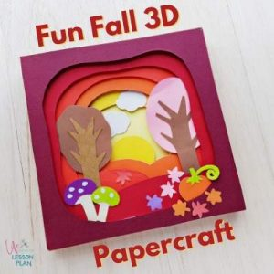 Fun Fall 3D Papercraft