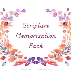 Scripture Memorization Pack