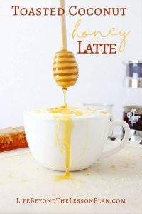 Toasted Coconut Honey Latte