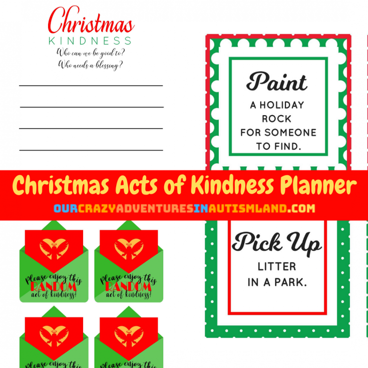 Want to add some kindness to your Christmas activities?