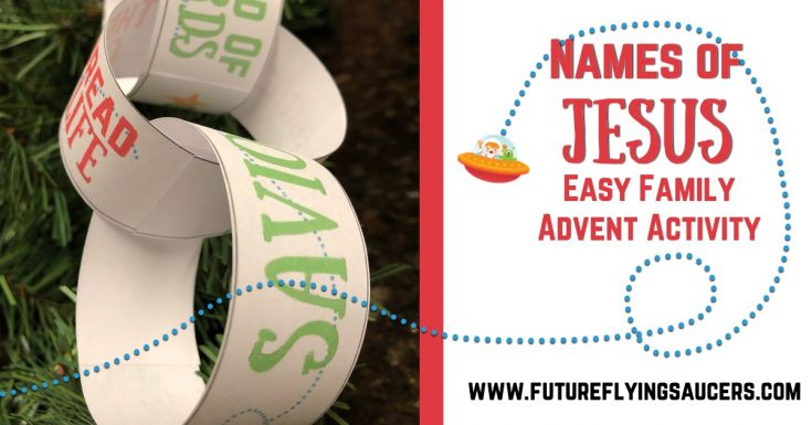 Names of Jesus Advent Activity | Paper Chain