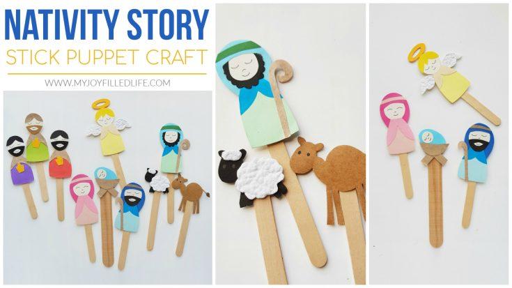 Nativity Story Puppet Craft