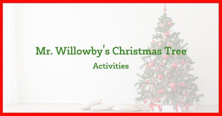 Mr. Wallowby's Christmas Tree Activities